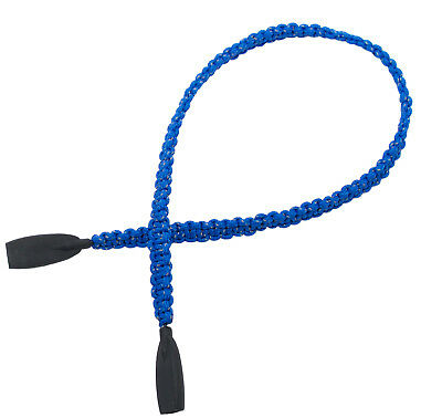 Rainbow Paracord Eyewear Retainer / Paracord Reflective / RPC01-Blue