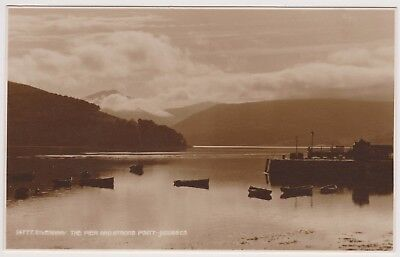 Postcard Inveraray the Pier and Strone Point Judges  Argyle and Bute Unposted