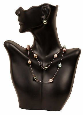 New Necklace Display Earring Bust Decor Jewelry Holder Stand Half Body Mannequin