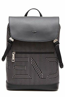 099f0963086 NWT FENDI MEN S Multicolor Monster Shearling Fur Backpack  4400 ...