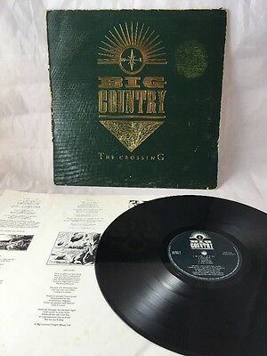 "Big Country - ""The Crossing"" - Vinyl LP - 1983"