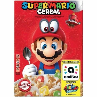 Super Mario Cereal Odyssey For Nintendo Switch  Limited Edition Amiibo Preorder