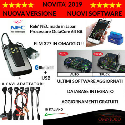 Autodiagnosi  Multimarca Professionale 2018 W.0W 5.00.12  Auto Diagnosi + Truck