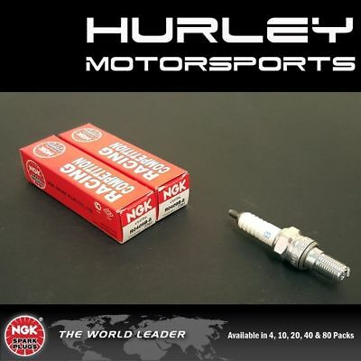 NGK Racing Competition Spark Plugs - Stock #7791 - R0409B-8 - Qty (2)