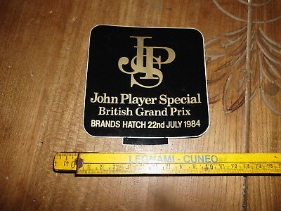 Jps John Player Special Brands Hatch Gp F1 1984 Adesivo Sticker Aufkleber