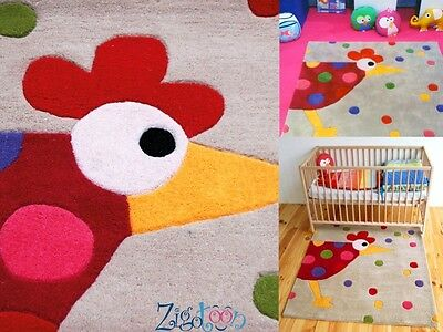 Woolen carpet Hen Mat Children Decoration