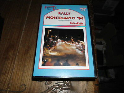 Montecarlo Rallye Rally 1994 Vhs Fd Video Tuttorally No Solorally Rallyssimo