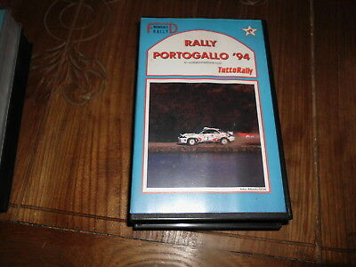 Portogallo Portugal Rally 1994 Vhs Fd Video Tuttorally No Solorally Rallyssimo