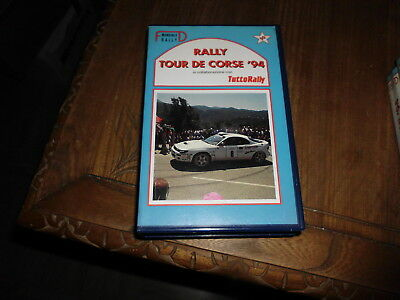 Tour De Corse Rallye Rally 1994 Vhs Fd Video Tuttorally No Solorally Rallyssimo