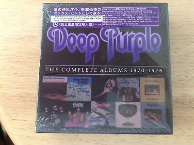 DEEP PURPLE THE Complete Albums 1970-1976 New 12 CD Box USA Shipped NEW &  sealed