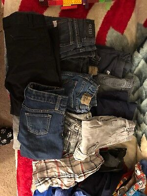 Toddler Boys Size 4,5 T a Lot of 30+ Piece Lot Mixed Clothes Items Various Brand