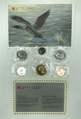 1994 Royal Canadian Mint Uncirculated Coin Set with COA***FREE SHIPPING