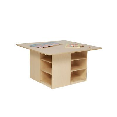 """Wood Designs WD85009 Cubby Table without Trays 20 x 36 x 36"""" (H x W x D)"""