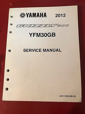 YAMAHA Service Manual for 2012 GRIZZLY300 YFM30GB