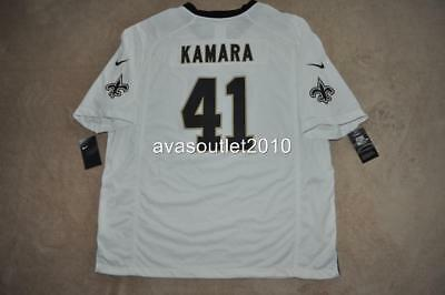 ALVIN KAMARA Jersey  41 New Orleans Saints Nike Game Jersey White Men XXL  NWT 985c98e2b