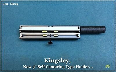 Kingsley Machine (5-Inch Self centering Type Holder) Hot Foil Stamping Machine