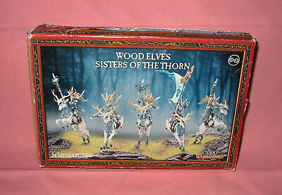 Games Workshop - Wood Elves - Sisters Of The Thorn, Open Complete