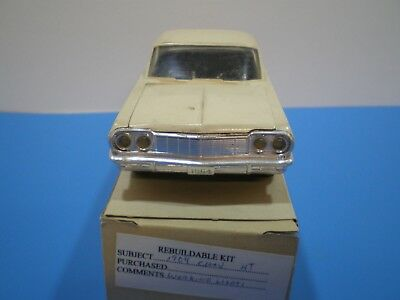 1964 Chev Impala Hard top model kit by AMT workable lights first edition