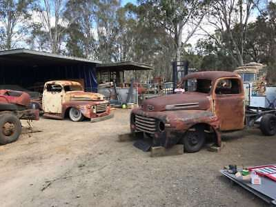 Ford 1948,1949,1950 RHD Aussie truck cab and front end Sydney Pick Up No reserve