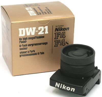 New Nikon DW-21 High Magnification Finder for F4 Camera