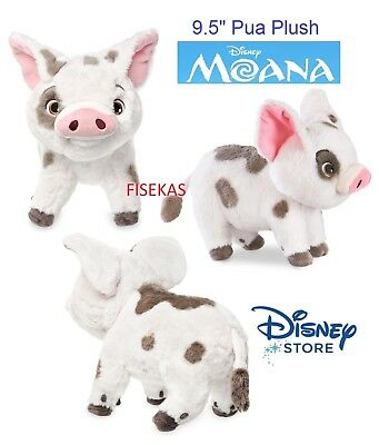 disney store authentic pua plush 9 1 2 moana pet pig stuffed 2017