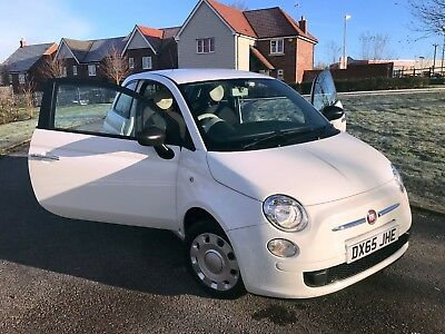 Fiat 500 1.2 Pop 2015(65) - 1 Previous Owner Start/Stop 27,850 mileage, £20 TAX