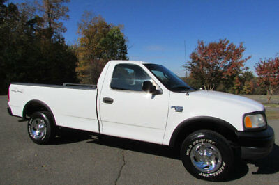 2003 Ford F-150 4X4 LONG-BED XL WORK-PACKAGE 2003 FORD F-150 4X4 LONG-BED TRUCK 1-OWNER ONLY 52K ORIGINAL-MILES VERY-CLEAN!