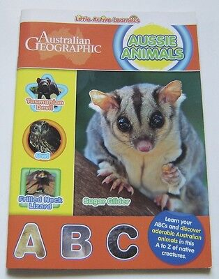 AUSSIE ANIMALS Little Active Learners ABC BOOK