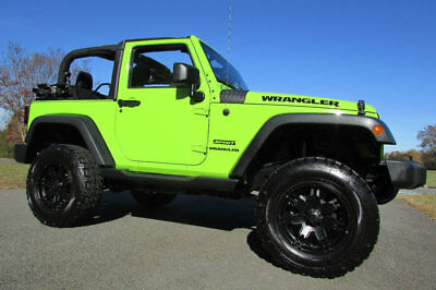 2013 Jeep Wrangler 4X4 SPORT-PKG *SHOW-TRUCK* 2013 JEEP WRANGLER SPORT 4X4 GECKO GREEN LOW MILES OVER $5000 IN UPGRADES MINT!