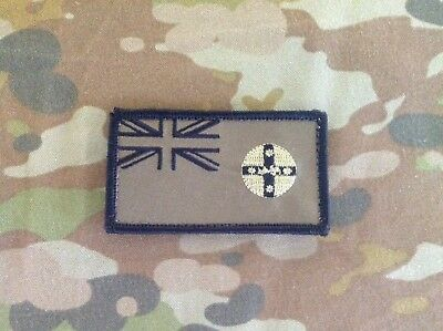 Iraq Afghanistan OD NSW Flag Velcro Patch