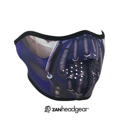 ZANheadgear® Neoprene Half Face Mask, Pain, WNFM097H, Cold Weather Protection