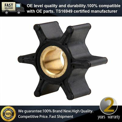 Water Pump Impeller 387361/ 763735 for Johnson Evinrude OMC BRP 2-6HP Outboard