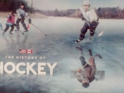 **NEW** 2017 History of Hockey (Souvenir Sheet of 2) lowest issued 500k