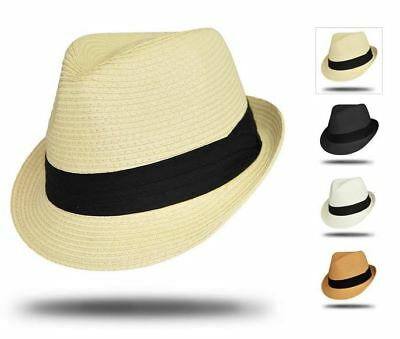 STANTON HAT ST400 100% Toyo Trilby S M L 4x colour choices available  FREE POST