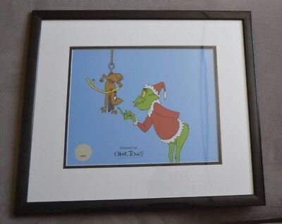 Dr. Seuss' How The Grinch Stole Christmas Limited Edition Serigraph Cel