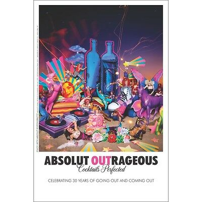 "Absolute ""out "" Rageous Poster   24 By 36  New"