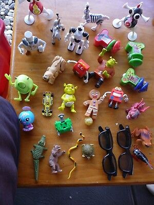 bulk lot of McDonalds toys and more