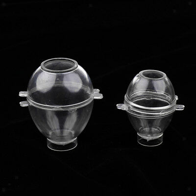 Transparent Egg Shaped Candle Mold Candle Making Model for DIY Candle Crafts