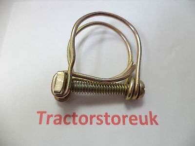 OLD STYLE HOSE CLIP  SIZE 33mm               NEW