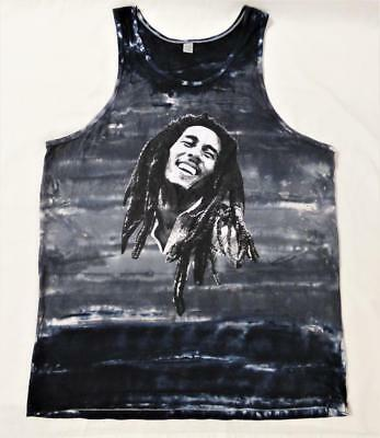 BOB MARLEY retro RASTA SINGLET DRESS M slouch bikini cover BUY3+ ITEM= FREE POST