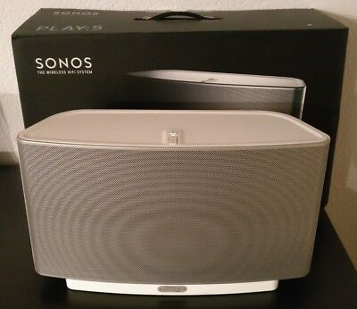 sonos play 5 2 generation weiss ladenger t. Black Bedroom Furniture Sets. Home Design Ideas
