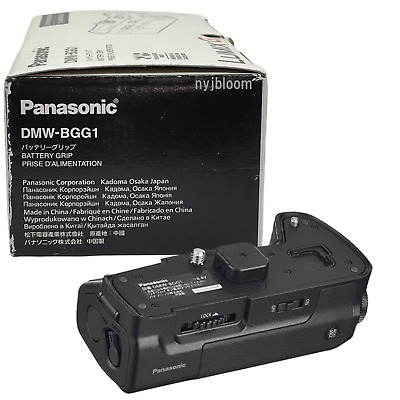 New PANASONIC DMW-BGG1 Battery Grip for Lumix DMC-G8 G85