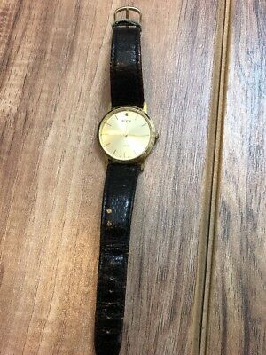 Vintage Ladies Alvin Watch Co. Genuine Leather Band