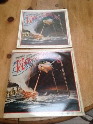 Jeff Wayne's WAR OF THE WORLDS 2 x Vinyl LP, 1978, with Booklet,