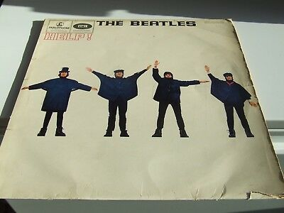 Beatles Help Record Signed