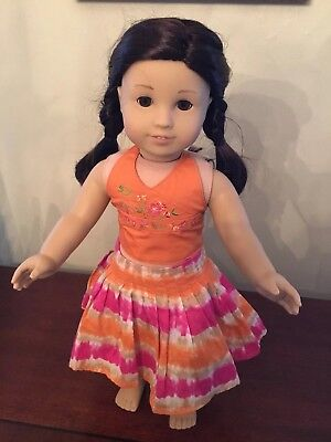 American Girl Doll Jess Girl Of The Year 2006 Retired GOTY