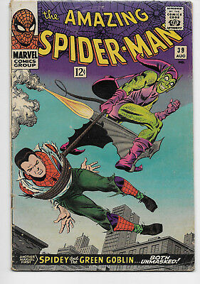The Amazing Spider-Man 39 Green Goblin Unmasked Appearance