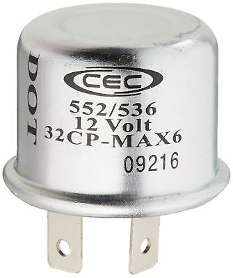CEC Industries TF552/536 Thermal Flasher 12 V 2 Terminal Boxed 1 Pack