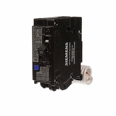Siemens QA120AFCP 20 Amp Single Pole 120 volt Plug On Combination AFCI Breaker
