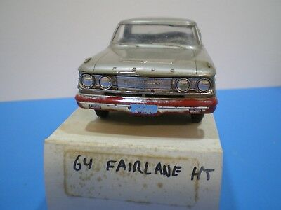 1964 Ford Fairlane original Promo in pewter by AMT  nice